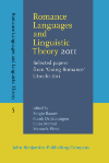 image of Romance Languages and Linguistic Theory 2011