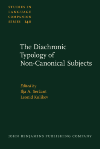 image of The Diachronic Typology of Non-Canonical Subjects
