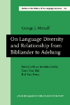 image of On Language Diversity and Relationship from Bibliander to Adelung