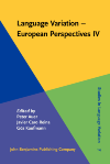 image of Language Variation - European Perspectives IV