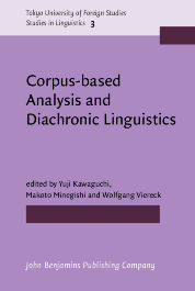 image of Corpus-based Analysis and Diachronic Linguistics