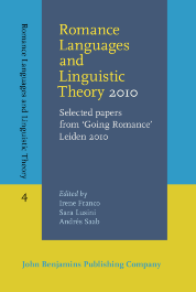 image of Romance Languages and Linguistic Theory 2010
