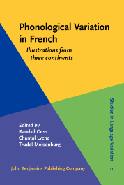 image of Phonological Variation in French