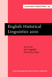 image of English Historical Linguistics 2010