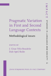 image of Pragmatic Variation in First and Second Language Contexts
