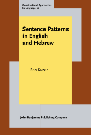 image of Sentence Patterns in English and Hebrew
