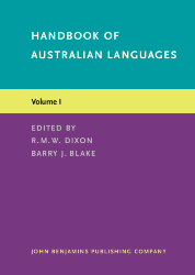 image of Handbook of Australian Languages