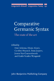 image of Comparative Germanic Syntax
