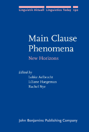image of Main Clause Phenomena