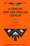 image of A Concise Hopi and English Lexicon