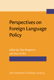 image of Perspectives on Foreign Language Policy