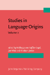 image of Studies in Language Origins