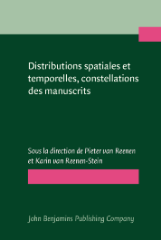 image of Distributions spatiales et temporelles, constellations des manuscrits/Spatial and Temporal Distributions, Manuscript Constellations
