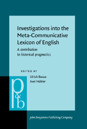 image of Investigations into the Meta-Communicative Lexicon of English