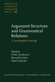 image of Argument Structure and Grammatical Relations