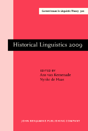 image of Historical Linguistics 2009