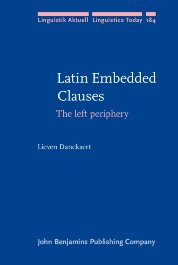 image of Latin Embedded Clauses
