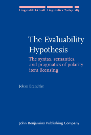 image of The Evaluability Hypothesis