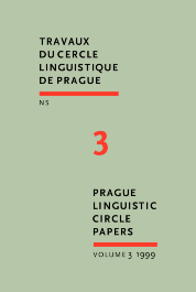 image of Prague Linguistic Circle Papers