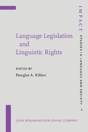 image of Language Legislation and Linguistic Rights