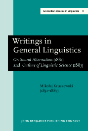 image of Writings in General Linguistics