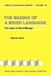 image of The Making of a Mixed Language