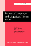 image of Romance Languages and Linguistic Theory 2000