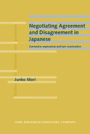 image of Negotiating Agreement and Disagreement in Japanese