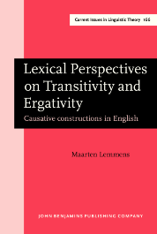 image of Lexical Perspectives on Transitivity and Ergativity