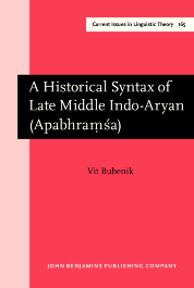 image of A Historical Syntax of Late Middle Indo-Aryan (Apabhraṃśa)