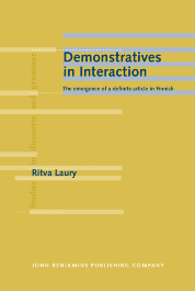 image of Demonstratives in Interaction