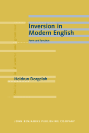 image of Inversion in Modern English