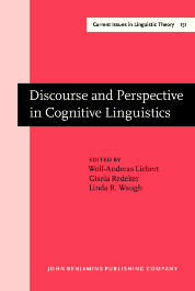 image of Discourse and Perspective in Cognitive Linguistics