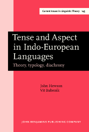 image of Tense and Aspect in Indo-European Languages