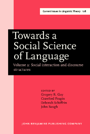 image of Towards a Social Science of Language