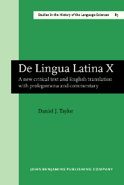 image of De Lingua Latina X