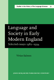 image of Language and Society in Early Modern England
