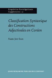 image of Classification Syntaxique des Constructions Adjectivales en Coréen