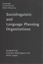 image of Language International World Directory of Sociolinguistic and Language Planning Organizations