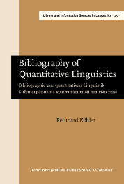 image of Bibliography of Quantitative Linguistics