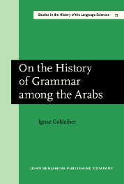 image of On the History of Grammar among the Arabs