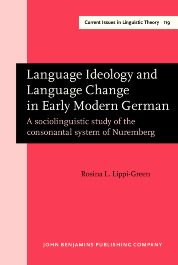image of Language Ideology and Language Change in Early Modern German