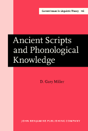 image of Ancient Scripts and Phonological Knowledge