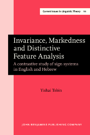 image of Invariance, Markedness and Distinctive Feature Analysis