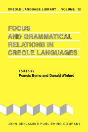 image of Focus and Grammatical Relations in Creole Languages