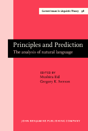 image of Principles and Prediction