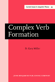 image of Complex Verb Formation