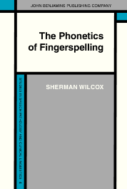 image of The Phonetics of Fingerspelling