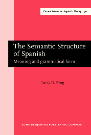 image of The Semantic Structure of Spanish