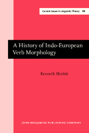 image of A History of Indo-European Verb Morphology